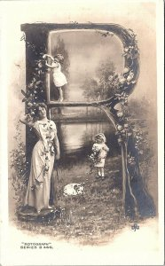 Postcard~R~Rotograph Series B 444~Posted 1909~A66