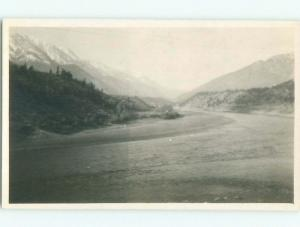 Pre-1918 rppc ROCKY MOUNTAINS Banff & Jasper & Canmore & Lake Louise AB W1079
