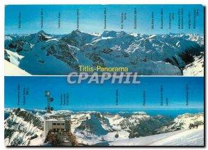 Modern Postcard Panorama Titlis