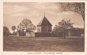 Virginia Williamsburg Public Magazine Albertype