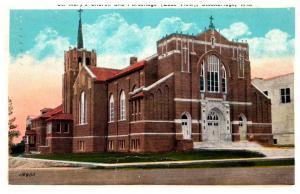 Wisconsin  Stockbridge , St. Mary's Church and Parsonage