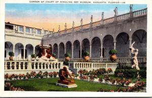 Florida Sarasota Corner Of Court Of Ringling Art Museum