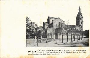CPA Paris 14e Paris-L'Eglise St-Pierre de Montrouge (311137)