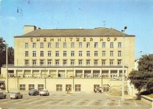 Karl Marx Stadt Hotel Chemnitzer Hof Auto Cars Voitures Pension