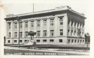 RP: SODA SPRINGS , Idaho , 1930-40s ; Court House