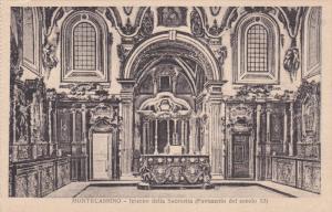 Interno Della Sacrestia (Pavimento Del Secolo XI), MONTECASSINO (Lazio), Ital...