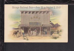 Chicago Railroad Fair,1949 Postcard BIN