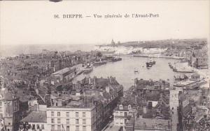 DIEPPE, Seine Maritime, France, 1900-1910's; Vue Generale De L'Avant-Port, Ships