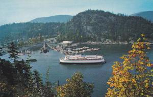 Ferry,  Horseshoe Bay,  West Vancouver,  B.C.,  Canada,  40-60s