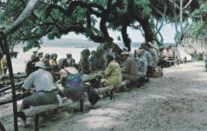 ´Oholei Beach, Nuku´Alofa , TONGA , Plantain punch stand, 40-60s