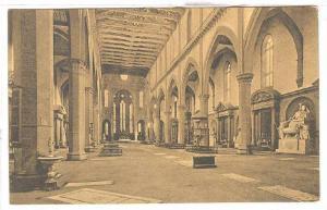 Interno Di S. Croce, Firenze (Tuscany), Italy, 1900-1910s