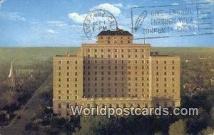 Hotel Saskatchewan Regina Canada 1968