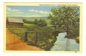 Water Running Uphill, Martinsburg, West Virginia, 30-40s