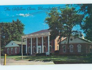 Unused Pre-1980 GILFILLAN CLINIC BUILDING Bloomfield Iowa IA J8969