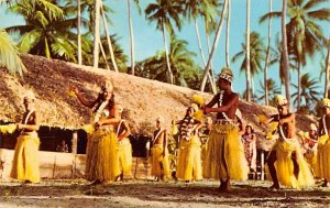 Tamure Dancers Bora Bora Fiji Unused