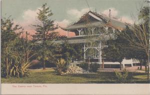 TAMPA FL - PAVILION at BALLAST POINT / BATHING CASINO 1910s view