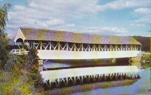 Covered Bridge at Groveton New Hamshire