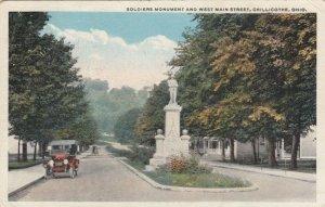 CHILLICOTHE , Ohio , 1924 ; Soldier's Monument
