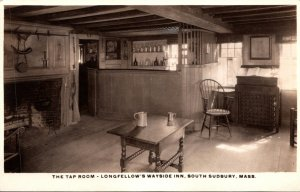 Massachusetts South Sudbury Longfellow's Wayside Inn The Tap Room Real P...