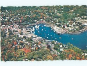 1982 aerial view OF TOWN Camden Maine ME n3298