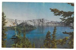 Crater Lake National Park Oregon Vintage Postcard