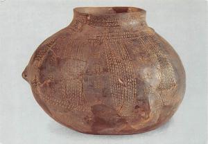 Dachstein Vase decore de la Civilisation neolithique Rubanee Postcard
