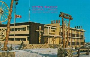 EDMONTON , Alberta , Canada , 1950-60s CFRN's Broadcast House
