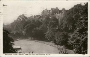 Aberdeen Union Terrace Gardens and Caledonian Hotel