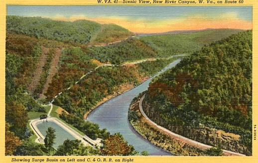 WV - New River Canyon