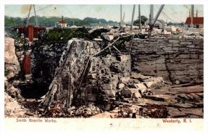 Rhode island   Westerly ,  Smith Granite Works