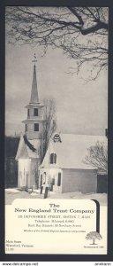 WATERFORD VERMONT USA - BOSTON MASS. New England Trust Company  BLOTTER