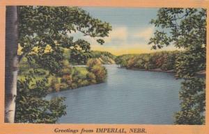 Nebraska Greetings From Imperial 1943