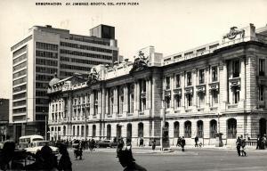 colombia, BOGOTA, Gobernacion, Av. Jimenez (1960) Postcard, Red Cancel