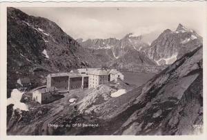 Switzerland Hospice du Gd Saint Bernard Real Photo
