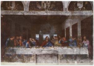 MILANO, The Last Supper, Leonardo da Vinci, Postcard