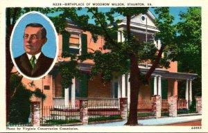 Virginia Staunton Birthplace Of Woodrow Wilson 28th President