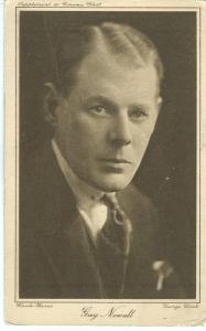 British Actor, Guy Newall, 1920s-1930s unused Postcard