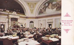 ST. PAUL, Minnesota, 1900-1910's; Senate Chamber, State Capitol Building
