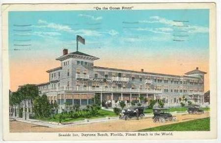 Seaside Inn, Daytona Beach, Florida, PU-1950