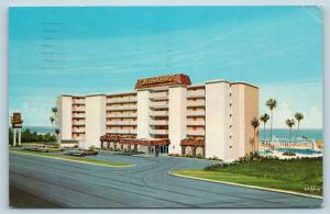 Postcard FL Daytona Beach Beachcomer Inn Hotel G23
