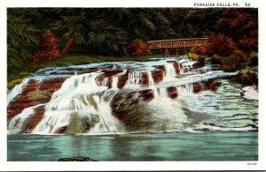 Pennsylvania Paradise Falls Curteich