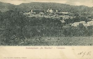 curacao, N.W.I., St. MARTHA, Buitenplaats, Panorama (1903)