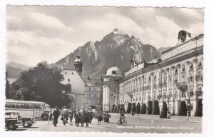 RP: Innsbruck, Austria, 40-50s   Rennweg mit hofkirche und Hofburg