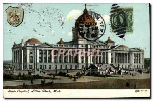 Postcard Old State Capitol, Little Rock Ark