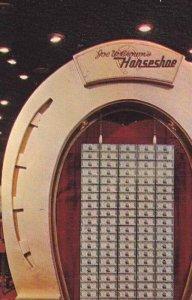 Joe W. Browns Horshoe Club in Downtown Las Vegas Las Vegas Nevada