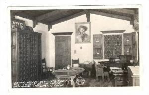 RP, Interior, Death Valley Scotty's Room In His Castle, National Monument, De...