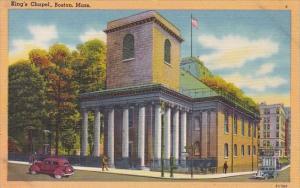King's Chapel Boston Massachusetts