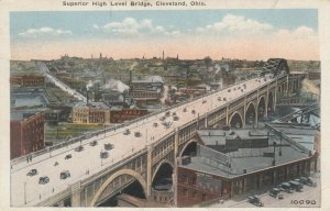 CLEVELAND , Ohio , PU-1923 ; Superior High Level Bridge
