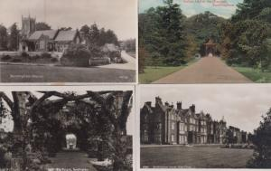 Sandringham Pergola House West Front Church Indian Idol 4x Norfolk Postcard s