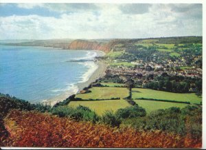 Devon Postcard - Sidmouth from Salcombe Hill - Ref 13821A